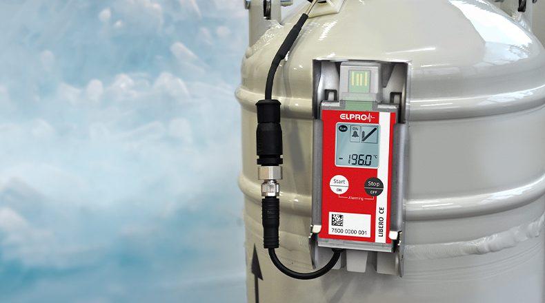 LIBERO CE监控超低温冰箱和液氮罐等运输过程中的贵重药品的温度